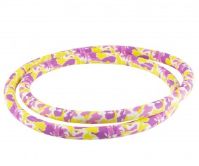 Silikonschlauch Soft-Touch (150 cm - pink yellow camo)