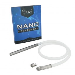 INVI Nano 2-Schlauch Upgrade Set Alu Anthrazit