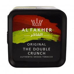 Al Fakher Tabak - The Double Crunch (1 kg Eimer)