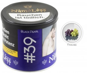 NameLess Tabak 200g - #39 Black Pearl