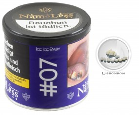 NameLess Tabak 200g - #07 Ice Ice Baby