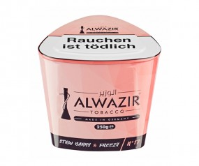 Al Wazir Tabak 250g - No. 17 STRW Barry & Freezy