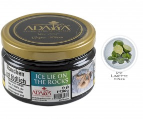 Adalya Tabak Ice Lie On The Rocks (Dose 200g)
