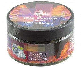 True Passion Dampfsteine 120g - Vaya Blue