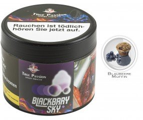 True Passion Tobacco 200g - Blackbrry Sky