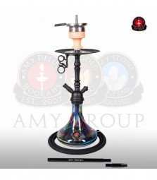 Amy Middle Globe Rainbow - black - RS black powder