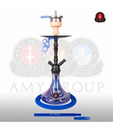 Amy Middle Globe Rainbow - blue - RS black powder