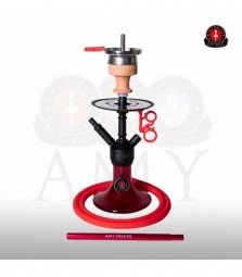 AMY Alu Jewel S 071.03 - black powder red