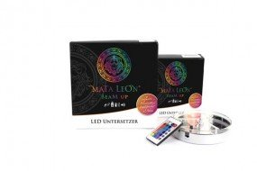Mata Leon LED-Untersetzer Beam Up - 15 cm