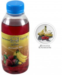 Al Waha Molasses Mix - Strawberry & Banana - 250ml