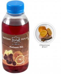 Al Waha Molasses Mix - Cinnamon & Orange - 250ml