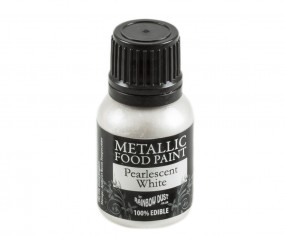 Rainbow Dust Metallic Paint - Pearlescent White