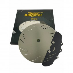 Alligator Brake Kohleteller - Schwarz